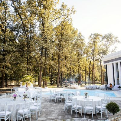 Galla Events exterior piscina